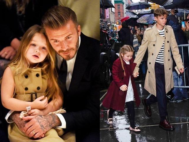 Bộ sưu tập áo khoác đẹp ngất ngây của con gái Beckham