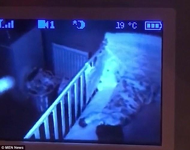 Cha hãi hùng sau khi xem lại video con gái 13 tháng tuổi ngủ say - 1
