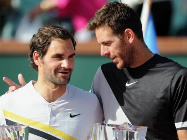 """Del Potro không còn tôn trọng Federer: """"Tàu tốc hành"""" đã làm gì?"""