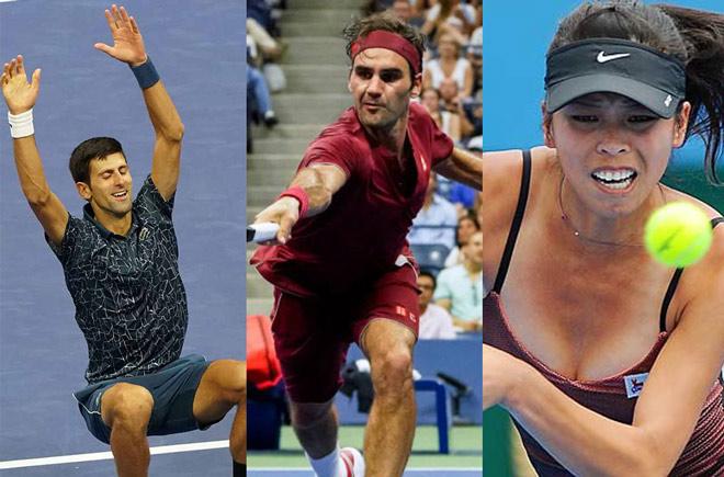 """Bảng xếp hạng tennis 17/9: Federer """"đứng ngồi không yên"""" vì Djokovic - 1"""
