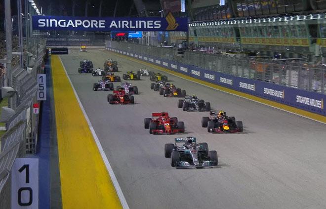 Đua xe F1, Singapore GP 2018: Thêm một nấc thang tới thiên đường - 1