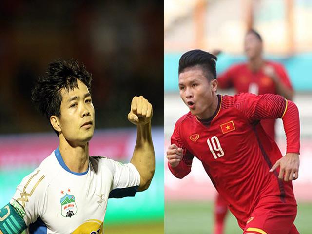 Quang Hải 3,5 triệu USD đấu Công Phượng: Ai hơn ai lúc này?