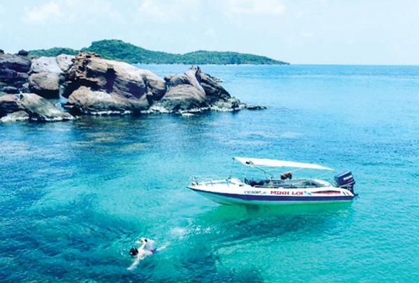 """Đắm chìm ở hòn Móng Tay - """"đảo Robinson"""" của Kiên Giang - 1"""