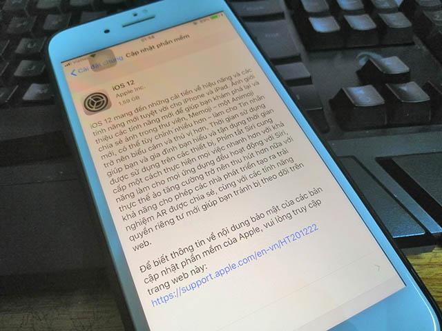iOS 12, watchOS 5 và tvOS 12 chính thức đến tay tất cả người dùng