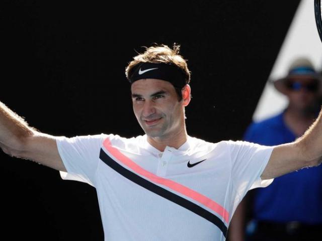 """Khoảnh khắc hài hước: Người đẹp """"uốn éo"""" vì Federer"""