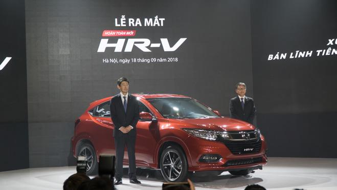 Honda HR-V ra mắt thị trường Việt Nam, giá từ 786 triệu đồng - 1