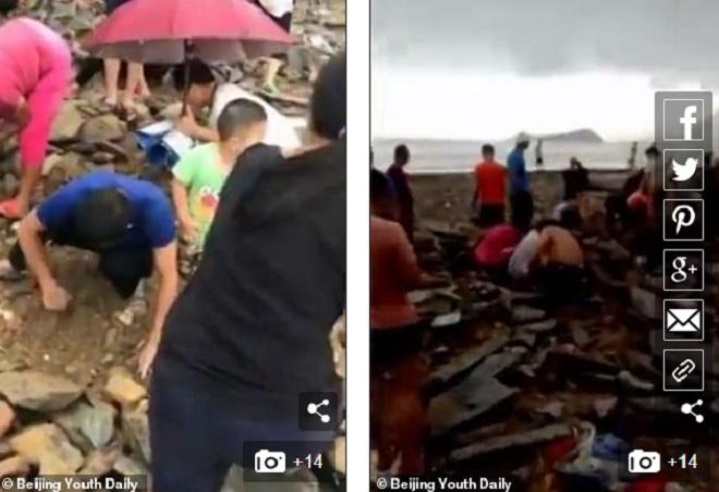"""TQ: Đào được """"kho báu"""" trong đống đổ nát sau siêu bão Mangkhut - 1"""