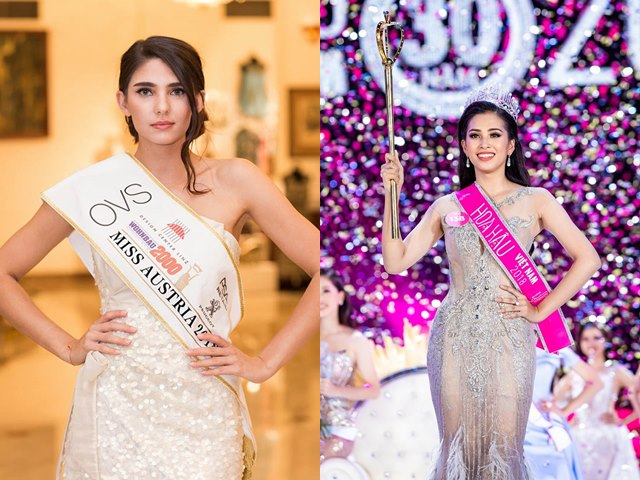 """Hoa hậu Áo 2018: """"Tiểu Vy là đối thủ đáng gờm"""""""