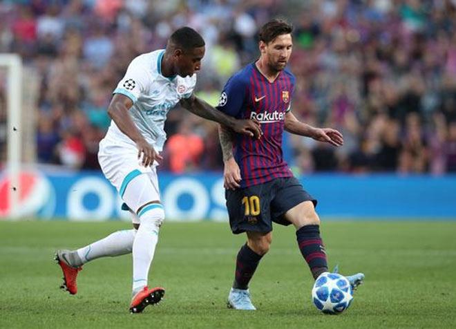 Barcelona - PSV: Siêu nhân Messi, siêu phẩm ngất ngây - 1