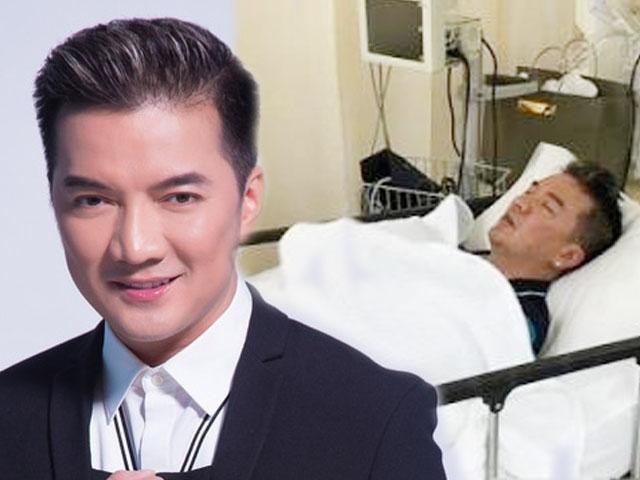 Mr. Đàm bất ngờ nằm liệt giường khi đang đi hát ở châu Âu