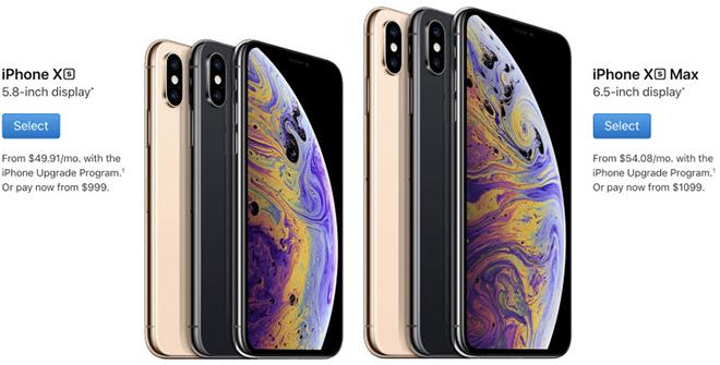 """Apple bắt đầu giao iPhone Xs và Xs Max đặt trước, đang """"cháy hàng"""" - 1"""