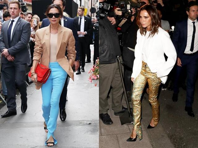 Victoria Beckham nhiệt tình lăng xê kiểu quần tốn bột giặt