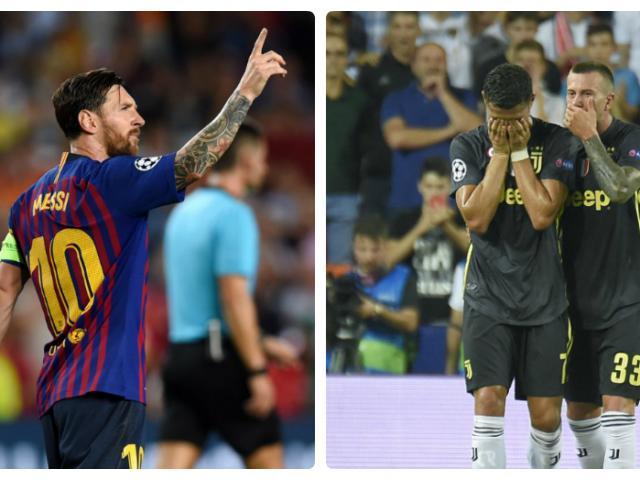 Mở màn cúp C1: Messi – Pogba lên đỉnh, Ronaldo – Neymar rơi vực sâu