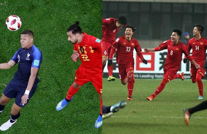 Bảng xếp hạng FIFA tháng 9: Việt Nam hơn Thái Lan 20 bậc, Bỉ lên số 1 - 1