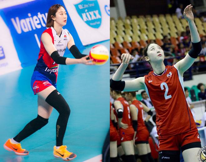 """Tuyệt sắc giai nhân bóng chuyền Hàn Quốc: Ghi điểm """"như mưa"""" ở châu Á - 1"""