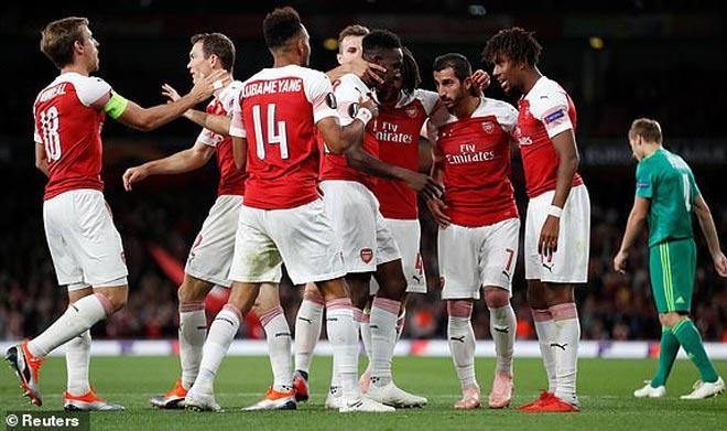 Arsenal - Vorksla: Dàn sao tỏa sáng, mãn nhãn 6 bàn - 1