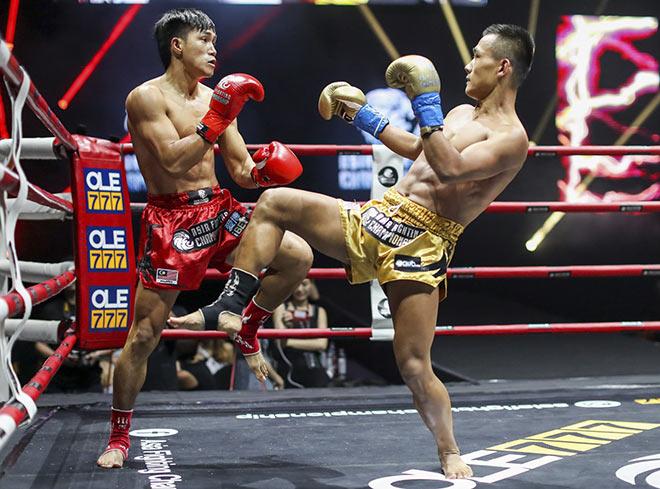 """""""Độc cô cầu bại"""" Duy Nhất thắng áp đảo võ sĩ Trung Quốc ở giải châu Á - 1"""