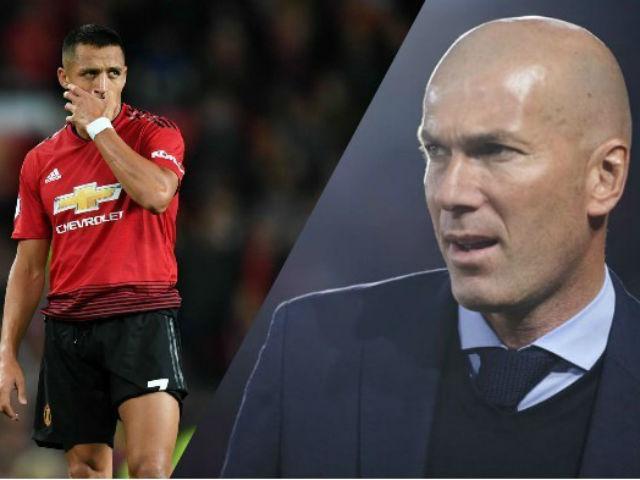 """MU """"nuôi báo cô"""" Sanchez 447 tỷ đồng: Mourinho bó tay, chờ Zidane trị"""