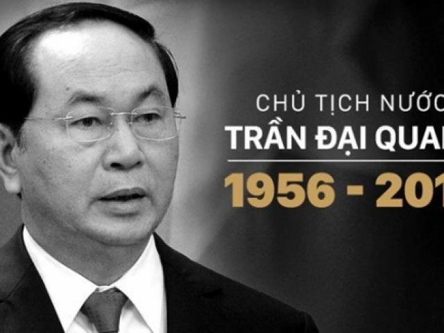 ĐSQ các nước tại Việt Nam chia buồn Chủ tịch nước từ trần