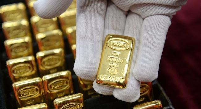 Giá vàng hôm nay 22/9: Đồng bạc xanh tăng trở lại, đẩy vàng lao dốc - 1