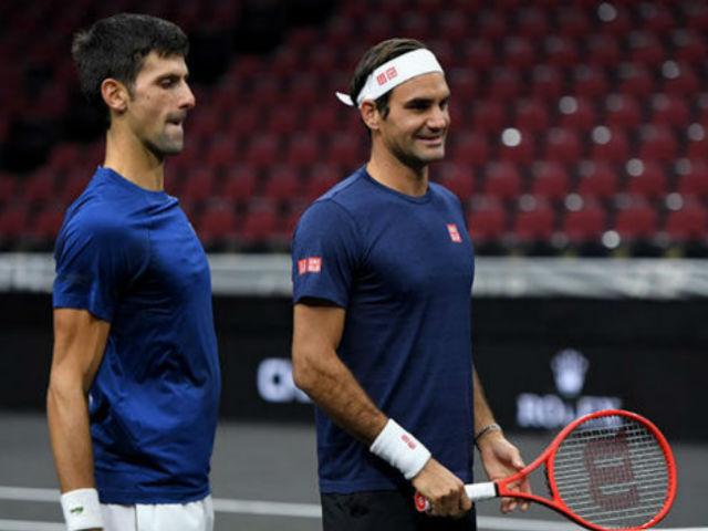 Federer song kiếm Djokovic: Đấu súng cân não, ngược dòng khó tin (Laver Cup)