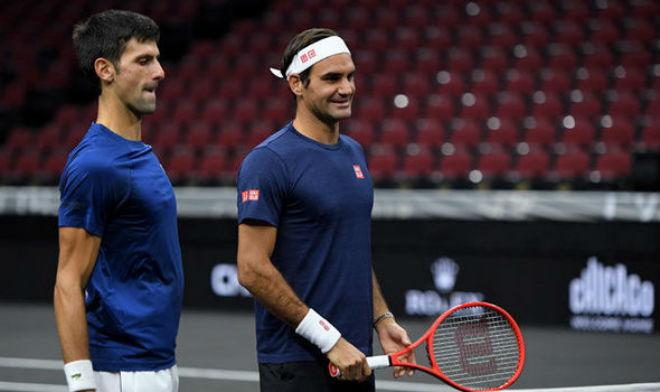 Federer song kiếm Djokovic: Đấu súng cân não, ngược dòng khó tin (Laver Cup) - 1
