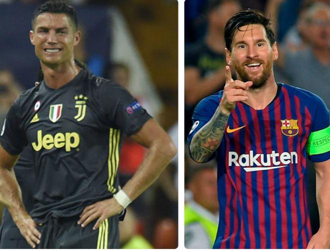 """Ronaldo """"sa lầy"""" ở Juventus: Chạnh lòng nhìn Messi thách thức Vua Pele - 1"""