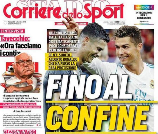"""Ronaldo rời Real là """"bão tố"""": UEFA """"bắt nạt"""" Serie A, Juventus kêu trời - 1"""