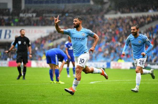 """Cardiff - Man City: """"Lốc xanh"""" ào ạt, mãn nhãn siêu phẩm - 1"""