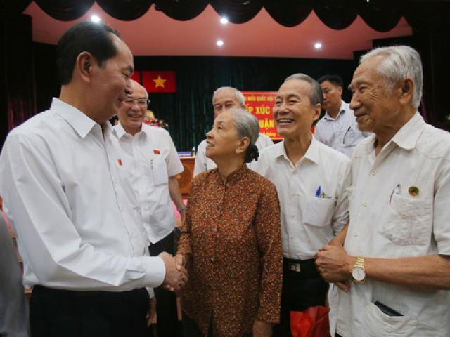 Chủ tịch nước Trần Đại Quang: Người đại biểu gần dân