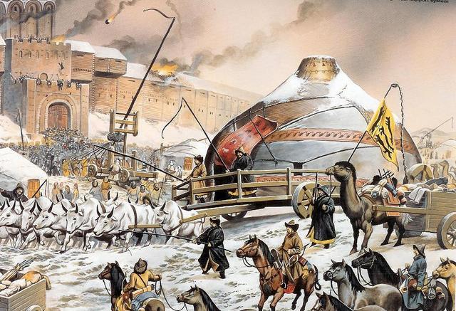 Người Nga từng thất bại cay đắng trước đạo quân Thành Cát Tư Hãn thế nào - 1