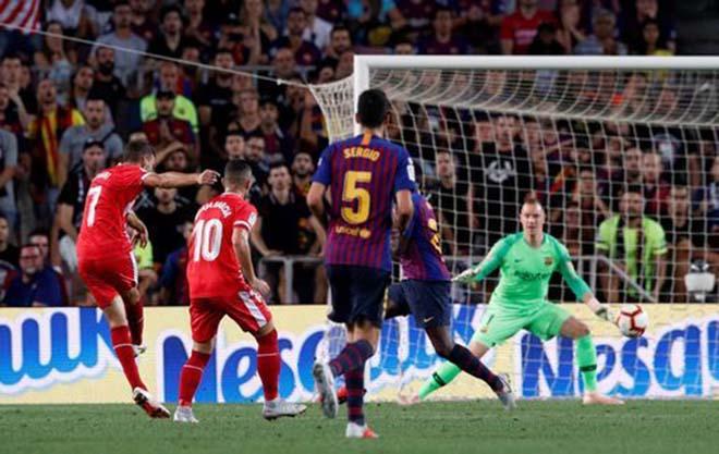 Siêu phẩm vòng 5 La Liga: Cú vô-lê định mệnh khiến Barca câm lặng - 1