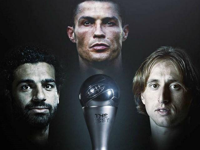 """FIFA The Best: Modric đỉnh cao chói lọi, phế ngôi """"Vua"""" Ronaldo"""