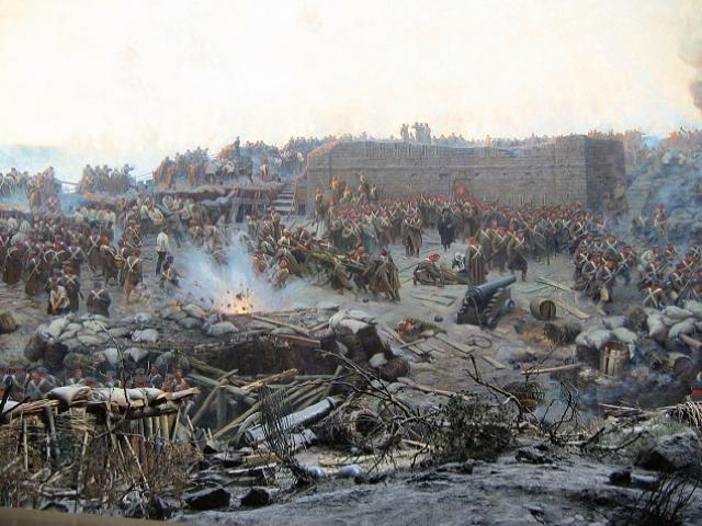 Đại chiến với liên quân phương Tây ở Crimea khiến Nga mất 40 vạn quân