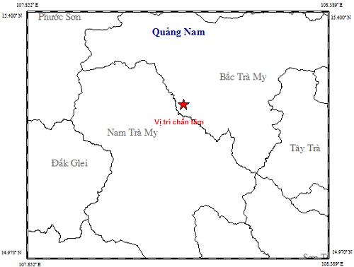 Vừa xảy ra trận động đất thứ 74 gần thủy điện Sông Tranh 2 - 1