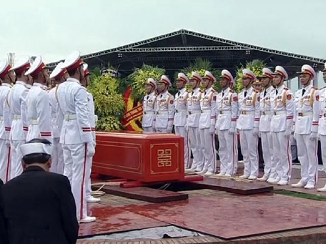 Chủ tịch nước Trần Đại Quang đã an nghỉ tại quê nhà Ninh Bình