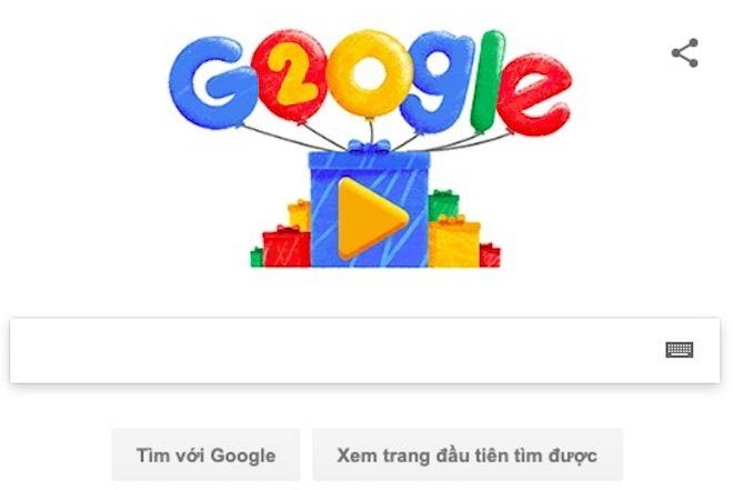 """Google tròn 20 tuổi và những con số """"sốc tới óc"""" - 1"""