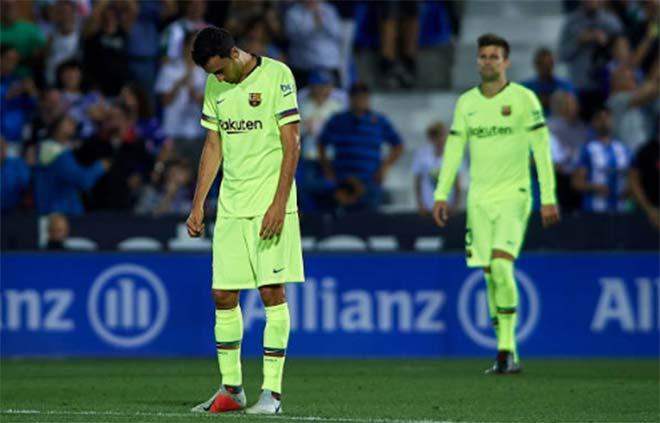 """Barca thua sốc tý hon: Bi kịch """"gà nhà đá nhau"""", Messi cũng bó tay - 1"""