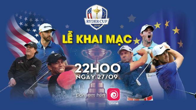 Ryder Cup 2018: Huyền thoại Tiger Woods so tài cùng các golfer châu Âu - 1