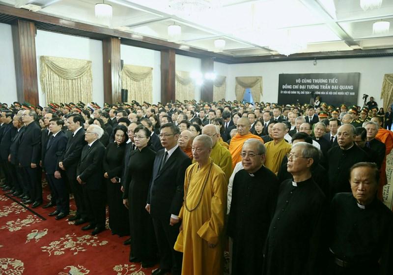Xúc động hình ảnh lễ truy điệu Chủ tịch nước tại TP.HCM - 1