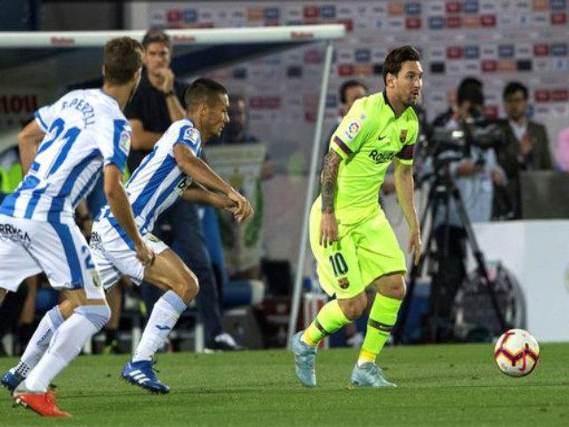 Leganes - Barcelona: Địa chấn thua ngược 1 phút 2 bàn