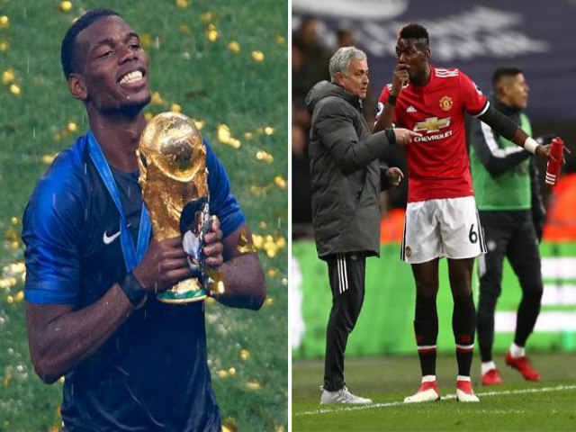 Bi kịch MU mâu thuẫn đỉnh điểm: Mourinho đi, Pogba cũng không thay đổi