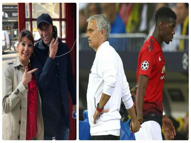 """Pogba """"bật"""" Mourinho: Triệu fan MU đòi đuổi, Zidane tới Anh """"cướp ghế""""?"""