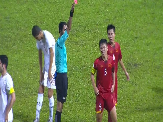U16 Việt Nam - U16 Iran: Thẻ đỏ & 5 bàn thua kinh hoàng