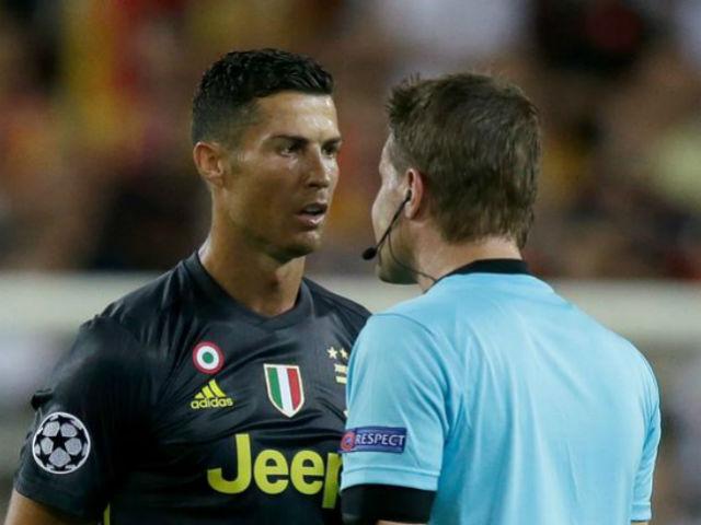 Ronaldo thẻ đỏ cúp C1: UEFA phán quyết bất ngờ, MU – Mourinho sôi sục