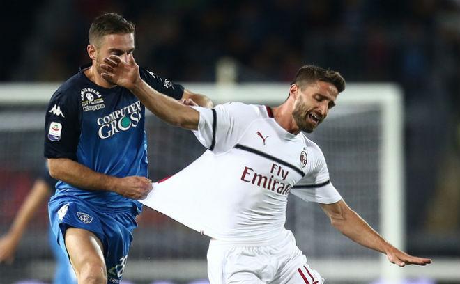 Empoli - AC Milan: Kỳ quặc bàn phản lưới và phạt đền định đoạt - 1