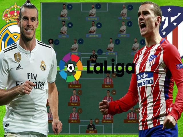 "Real Madrid - Atletico Madrid: Siêu sao đại chiến ""đốt cháy"" derby"