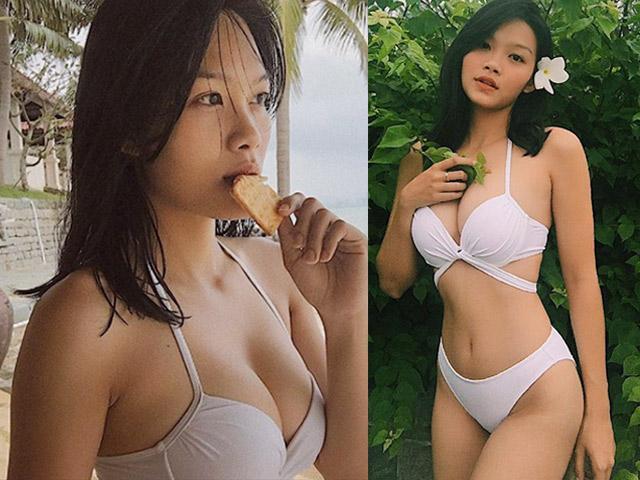 21 tuổi, con gái 'nữ hoàng cảnh nóng' Kiều Trinh ngày càng sexy