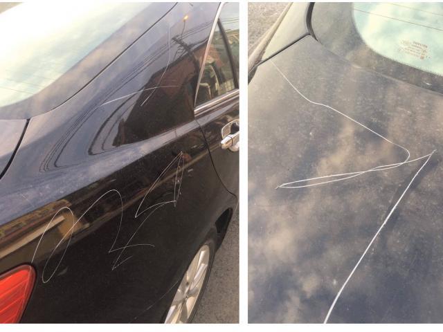 """Chủ xe Camry đăng clip tố """"kiều nữ"""" cào xước xe để trả thù va chạm giao thông"""