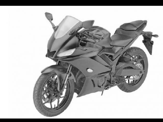 """2019 Yamaha YZF-R3 lộ diện """"hình hài"""", ra mắt vào năm tới"""